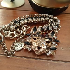 Betsy Johnson Lion Necklace
